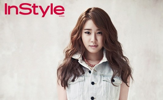"Yoo In Na Rocks Denim for ""Instyle"""