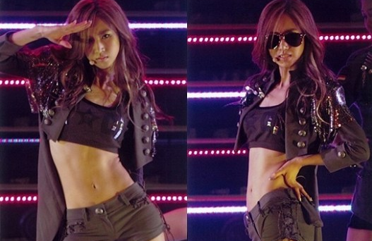 The Secret Behind Girl Group Members' Abs Is This?!