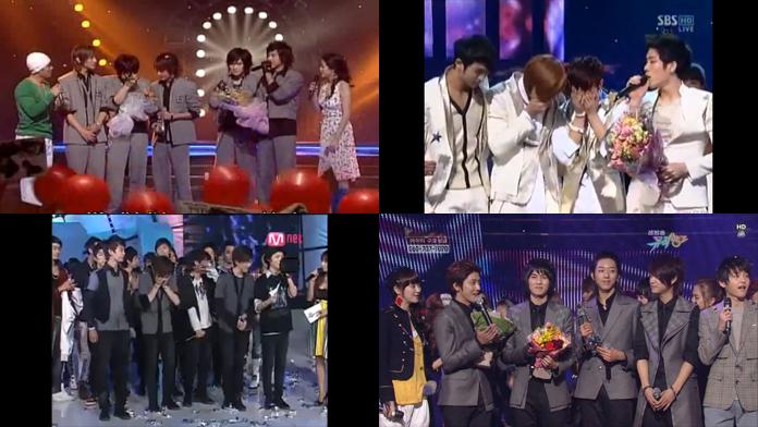 [Video] First Music Show Wins Part 2: Boy Groups