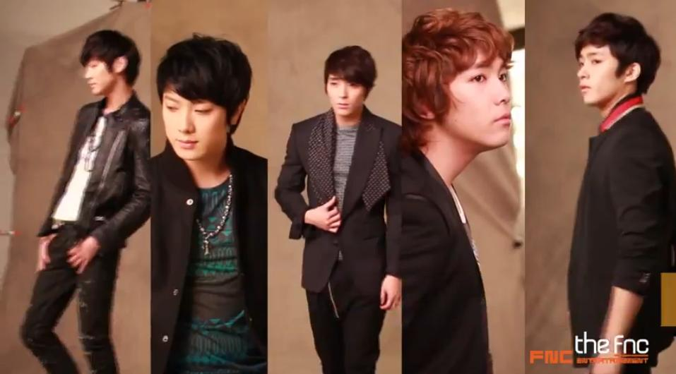 "FT Island Releases Behind the Scenes Video for ""The FNC"" Photo Shoot"