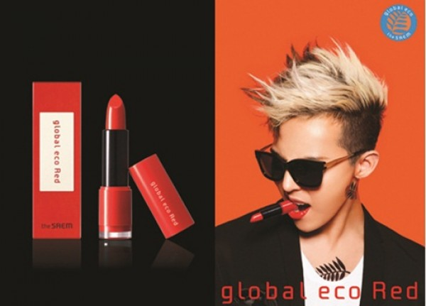 G-Dragon Becomes the First Male Celebrity to Advertise Red Lipstick