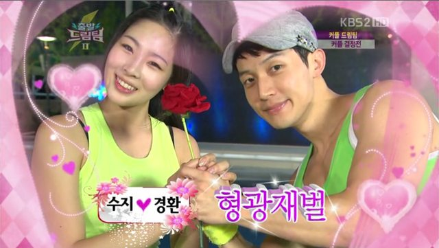 Comedian Huh Kyung Hwan and Gymnast Shin Soo Ji Are Dating
