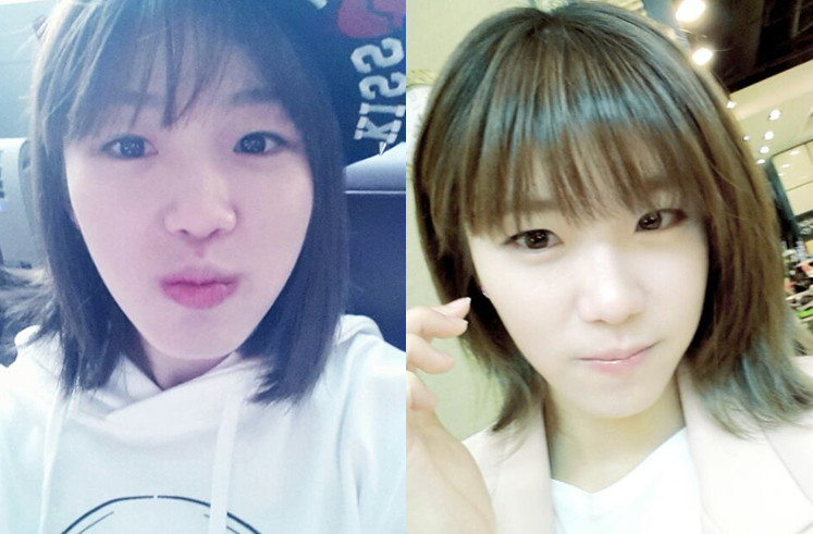 [SNS PIC] Bare Faced Hyosung Looks Gorgeous in Recent Selcas