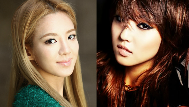 BFF's miss A's Min and Girls' Generation's Hyoyeon Are Hipsters