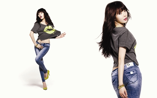"HyunA Reveals More Pictures from ""G by Guess"" Photo Shoot"