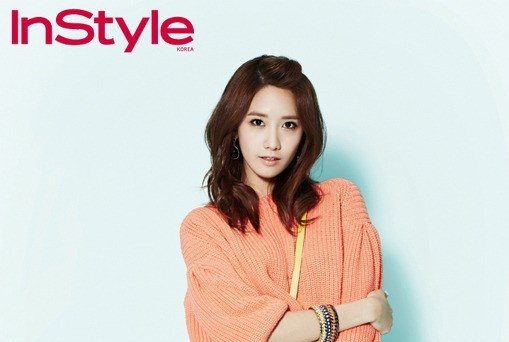 """Girls' Generation's YoonA Perfects Candy Colored Spring Look for """"InStyle"""""""