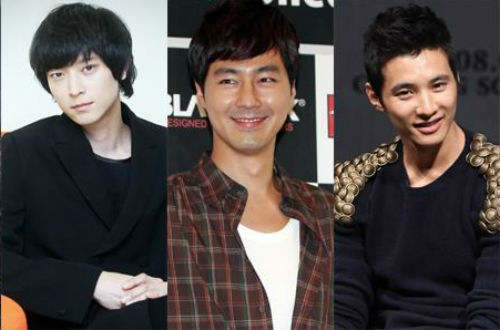 Netizens Dig Up Jo In Sung, Kang Dong Won, and Won Bin's Pre-Debut ID Photos