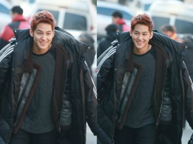 """How Does Kim Bum Keep Himself Warm During the Outdoor Scenes of """"That Winter, The Wind Blows?"""""""