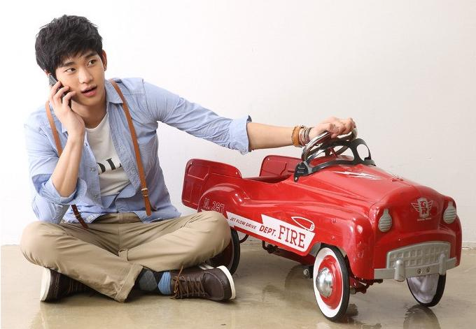 "Kim Soo Hyun Finishes Filming ""Secretly and Greatly"" and Will Be Returning to the Small Screen"