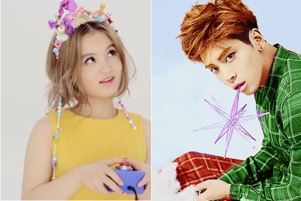 SHINee's Jonghyun Gifts Lee Hi with a Flower to Congratulate Her Win