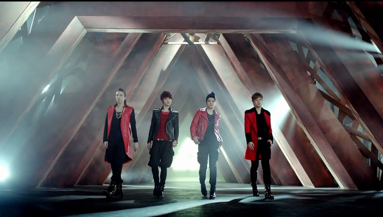 """Cube Ent.'s New Boy Group M4M Reveals Debut MV """"Sadness"""" (Chinese Ver.)"""