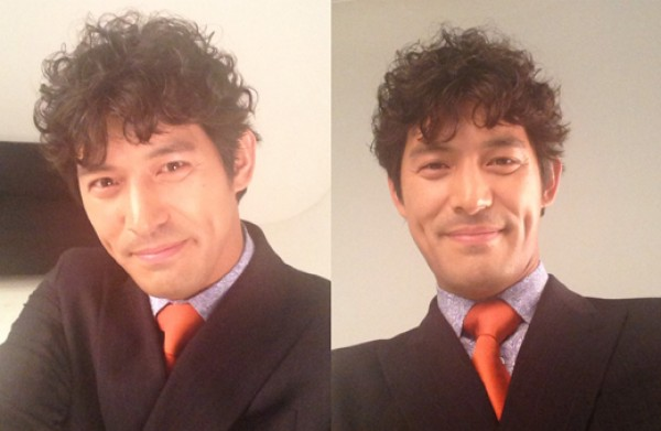 "Oh Ji Ho Flaunts ""Ahjumma Perm"" Hairdo for New Role"
