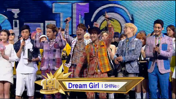 Inkigayo 03.17.13 – SHINee Takes First Win!