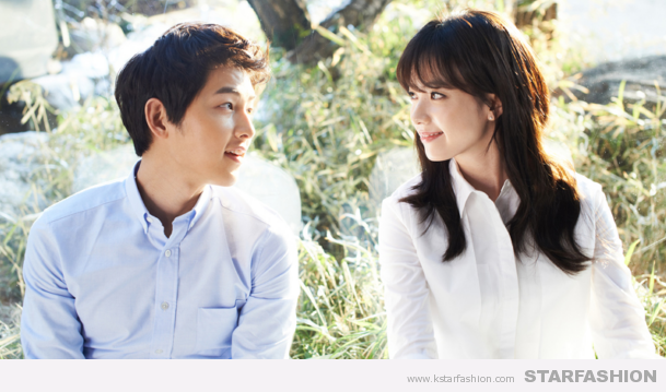 Song Joong Ki And Han Hyo Joo Make a Picture Perfect Couple