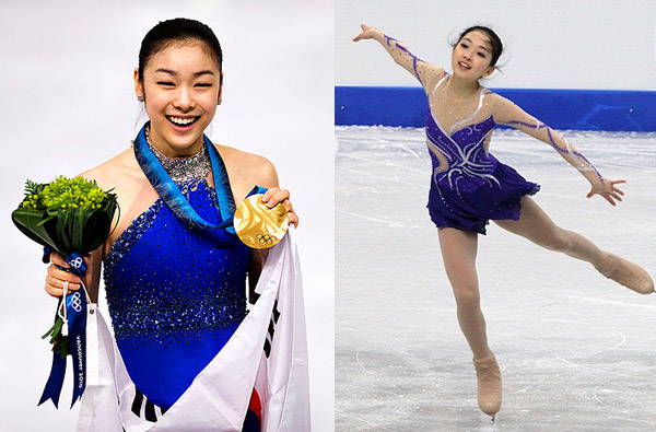 Rising Young Chinese Figure Skater Meets Her Idol Yuna Kim