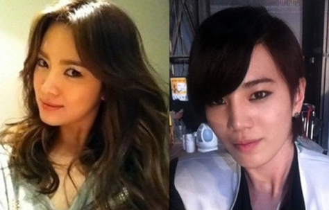 Song Hye Gyo and Infinite's Sung Jong Look Alike?