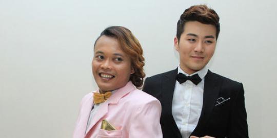 Eru Sings Duet with Indonesian Celebrity Sule