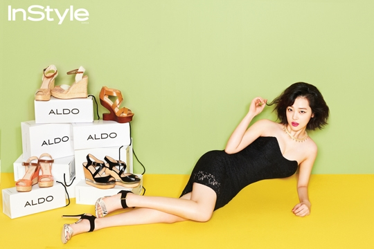 "Sulli Goes Sexy for ""InStyle"""