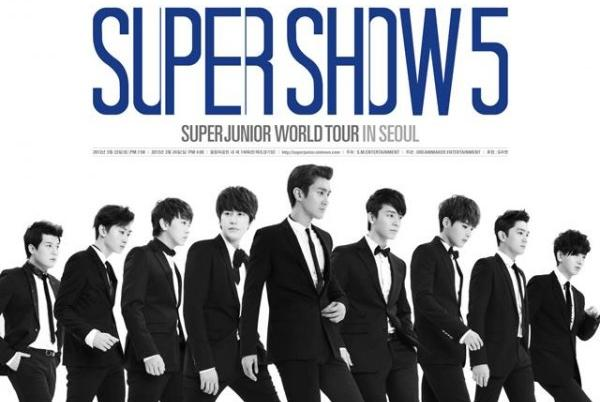 "Super Junior Announces ""Super Show 5 in Seoul"" and New South American Locations"