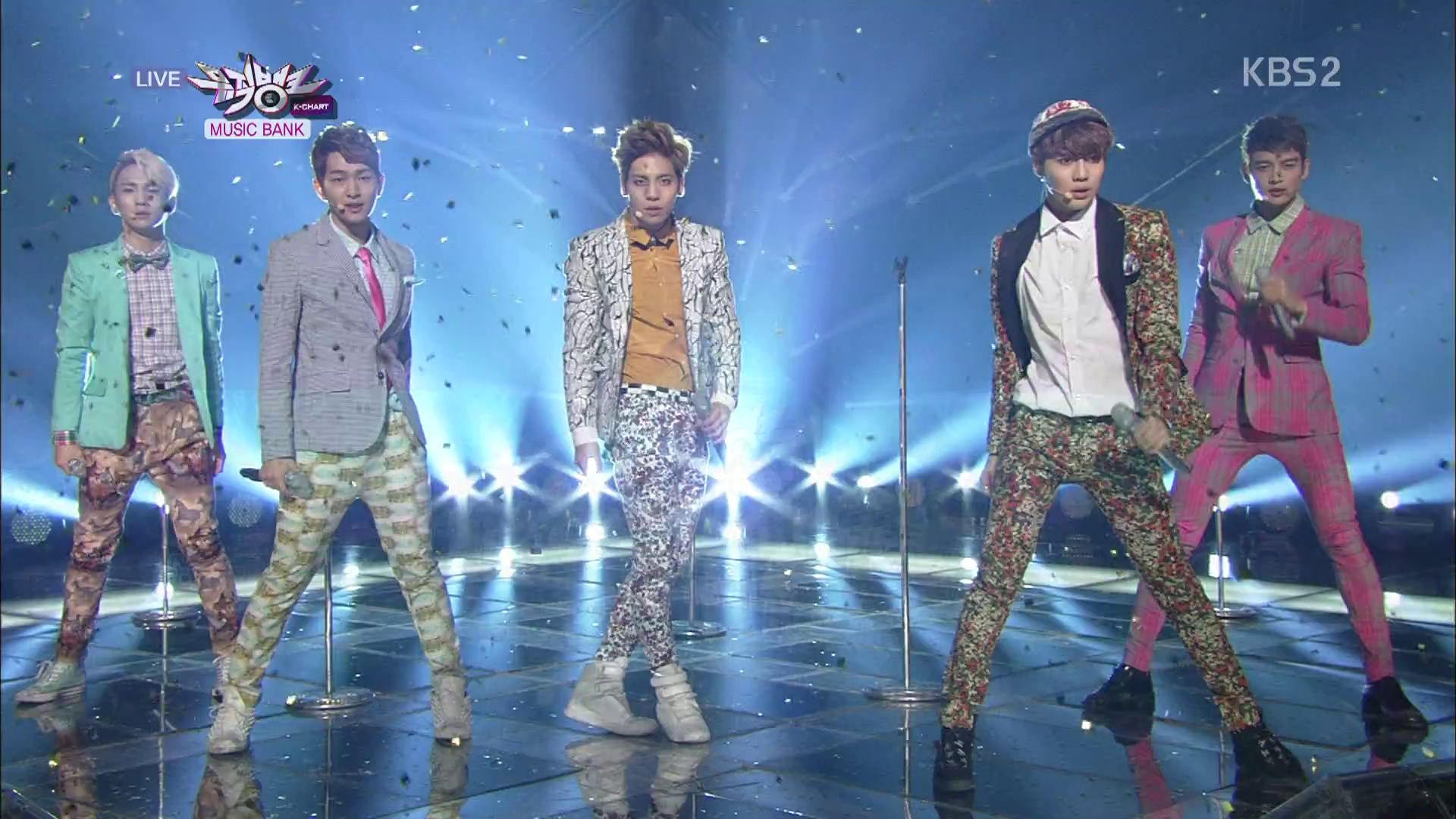 KBS Music Bank 03.15.13 – SHINee Wins Second Week in a Row