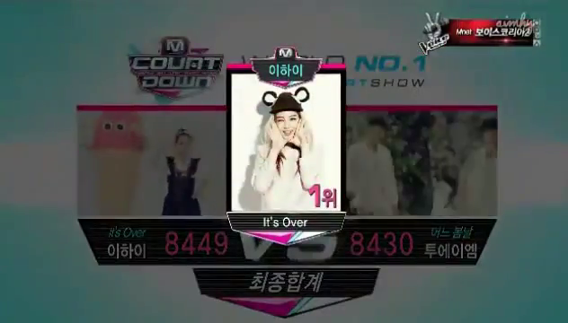 Mnet M! Countdown 03.21.13 – Lee Hi Takes First Win
