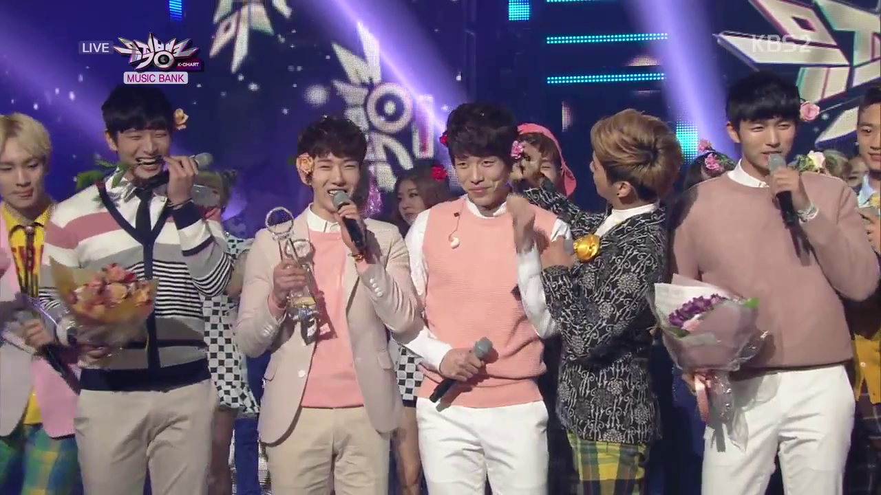 "KBS Music Bank – 03.22.13 – 2AM's ""One Spring Day"" Wins!"