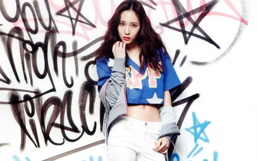 """f(x)'s Krystal's Funky Spring Pictorial for """"Vogue Girl"""""""