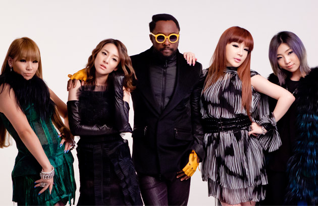 2NE1 to Feature on will.i.am's New Single Releasing on April 22!
