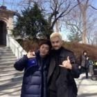 [SNS PIC] Yoon Doo Joon and David McInnis Snap a Photo Together
