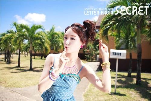 "Secret's Ji Eun ""YooHoo"" Teaser Revealed"