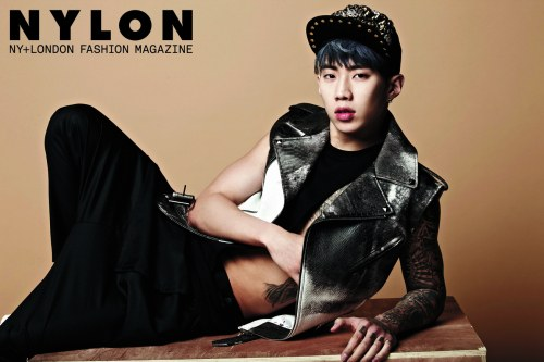 """Jay Park Goes Masculine and Sexy for """"Nylon"""""""