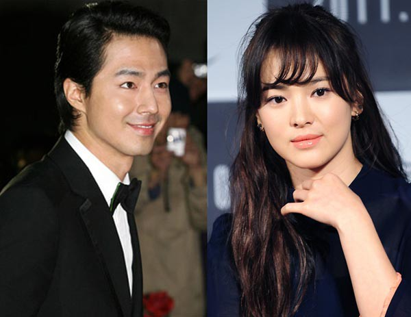 """Jo In Sung and Song Hye Kyo Cry During Final Filming for """"That Winter, the Wind Blows"""""""