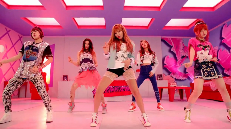 """4Minute Releases Group MV Teaser for """"What's Your Name?"""""""
