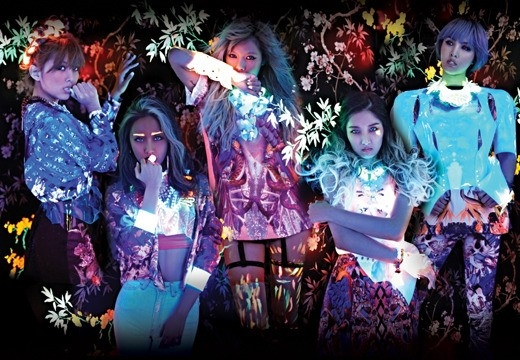 4minute are Nymphs of a Neon Forest in Teaser Photos