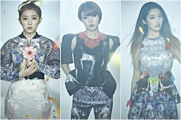 4minute Reveals Additional Jacket Photos for Upcoming Album