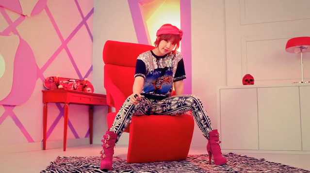 """4Minute Reveals Jiyoon's Teaser for """"What's Your Name?"""""""