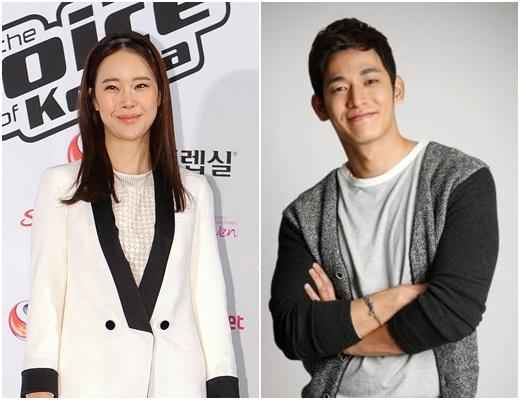 Baek Ji Young Quiets Rumors of a Break Up with Jung Suk Won