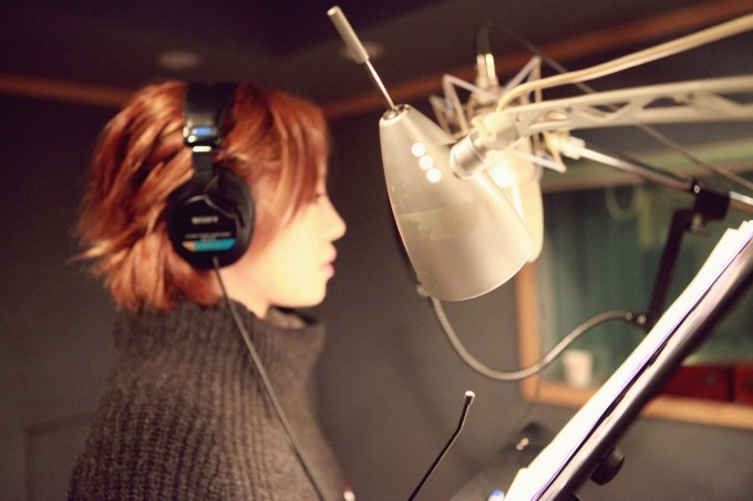 Brown Eyed Girls' Ga In is Back in the Recording Studio