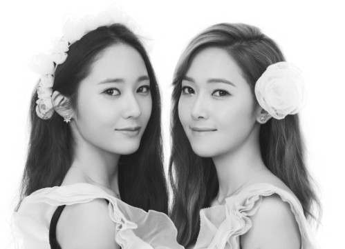 [SNS Pic] Baby Krystal is Not Pleased with Sister Jessica's Affection