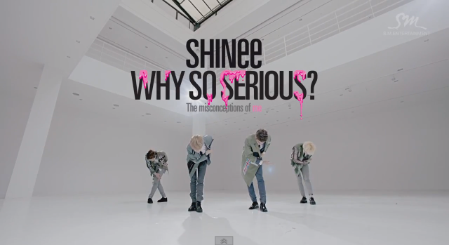 "SHINee Releases Full MV for ""Why So Serious?"""