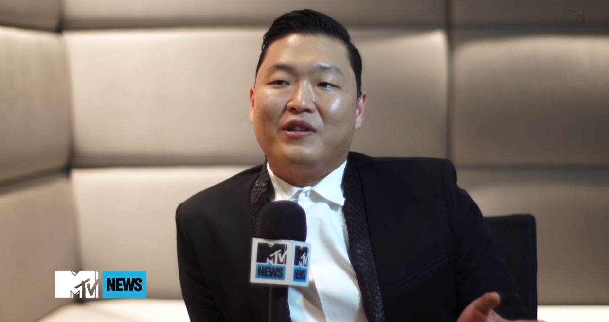 "PSY Says the Week He Released ""Gentleman"" Was ""Like Hell"""