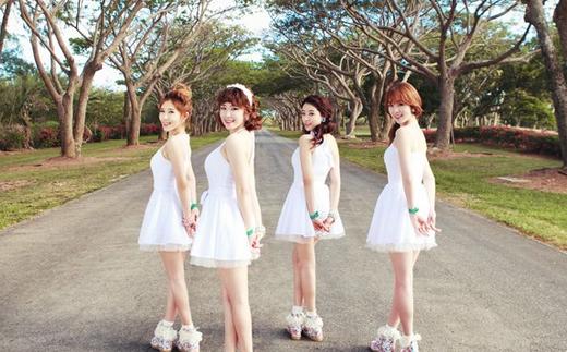 Secret Looks Like Angels in Group Teaser Photo