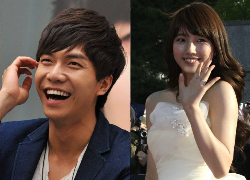 "Suzy and Lee Seung Gi Hard at Work for ""Gu Family Book"""