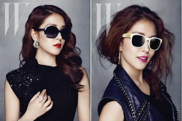 BoA Reveals Oakley Sunglass Photoshoot for W Korea