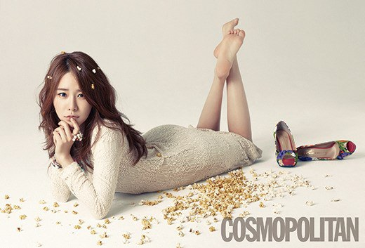 Actress Yoo In Na's Spring Pictorial For Cosmopolitan