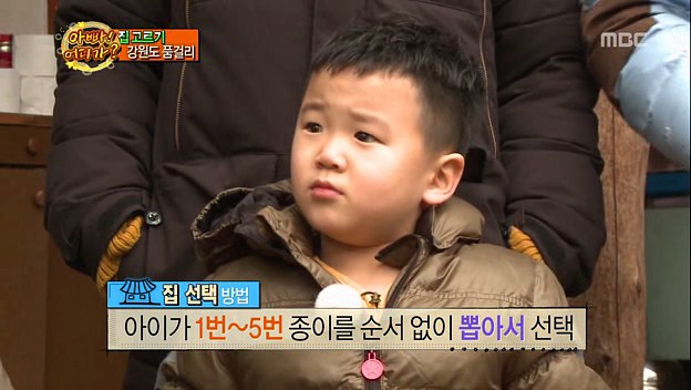 "Yoon Hoo Tells His Father He Has An Untreatable Condition on ""Dad, Where Are you going?"""