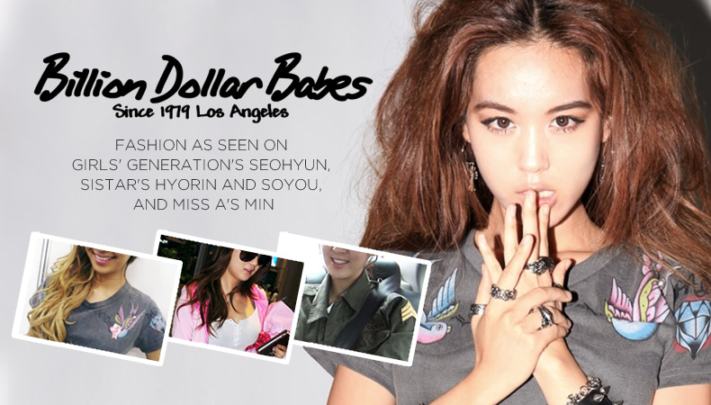 [Soompi Shop] Billion Dollar Babes Fashion as Worn by Girls' Generation, SISTAR, and miss A!