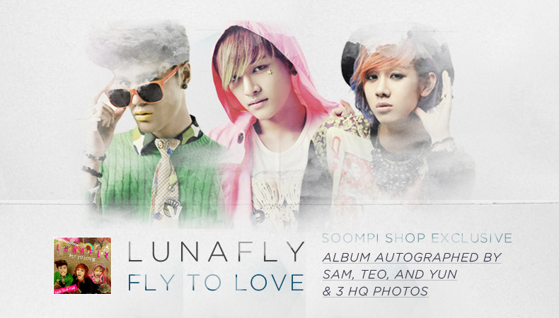 "[Soompi Shop] Autographed LUNAFLY ""Fly To Love"" Special Package!"