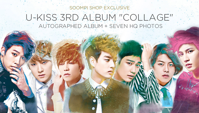 """[Soompi Shop] Autographed U-KISS """"Collage"""" Special Package!"""