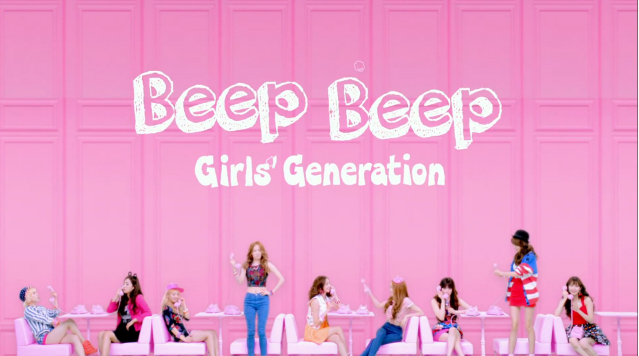 "Girls' Generation Releases Short Ver. MV for Japanese Track ""Beep Beep"""